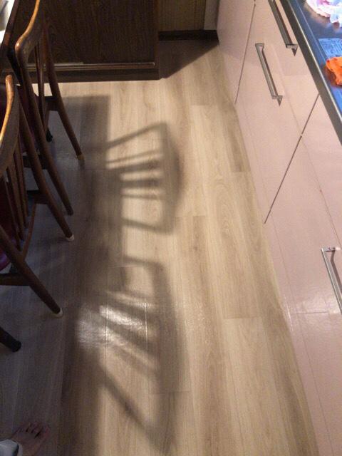 image9 【工事VOL 5】キッチン・廊下の床張替え工事