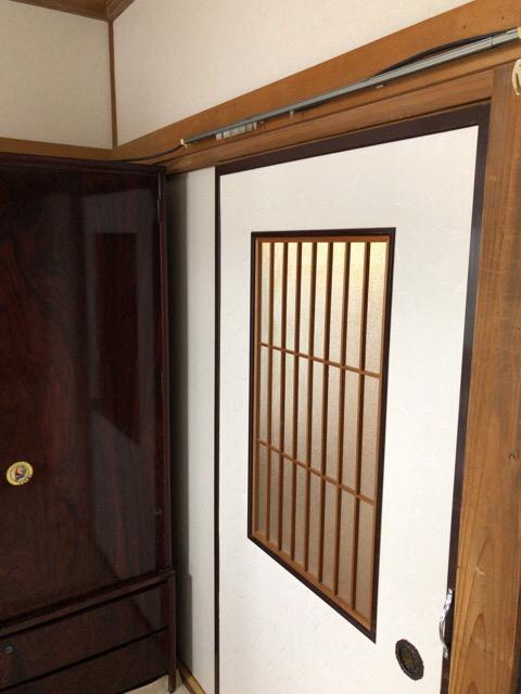 b-01 【工事VOL 11】和室壁内装工事・壁クロス・襖クロスの貼り替え
