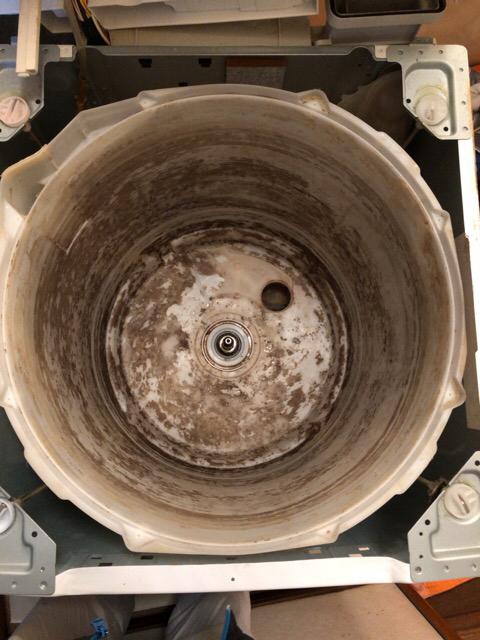 sentaku-ba01 【工事VOL 12】洗濯機分解洗浄